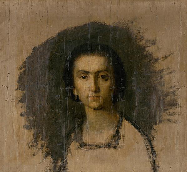 Leopold Horovitz – Štúdia ženskej hlavy