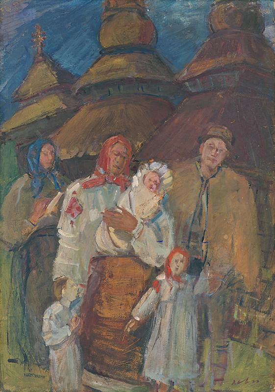 Andrej Doboš – Krstiny