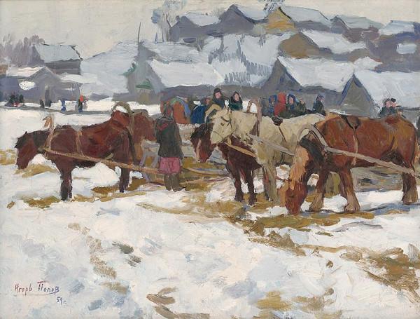 Igor Alexandrovič Popov – Bazár v Pereslavli - Zaleskom