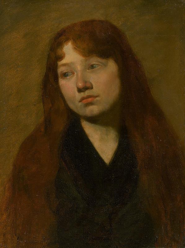 Jozef Hanula – Štúdia ženskej hlavy