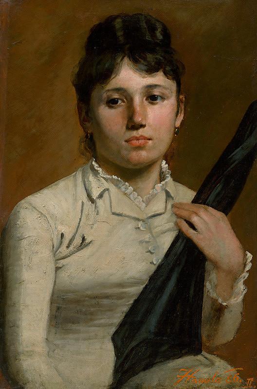 Jozef Hanula – Žena s dáždnikom
