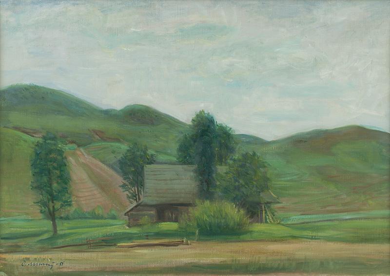 Dezider Milly: Chata v Zázrivej, 1951