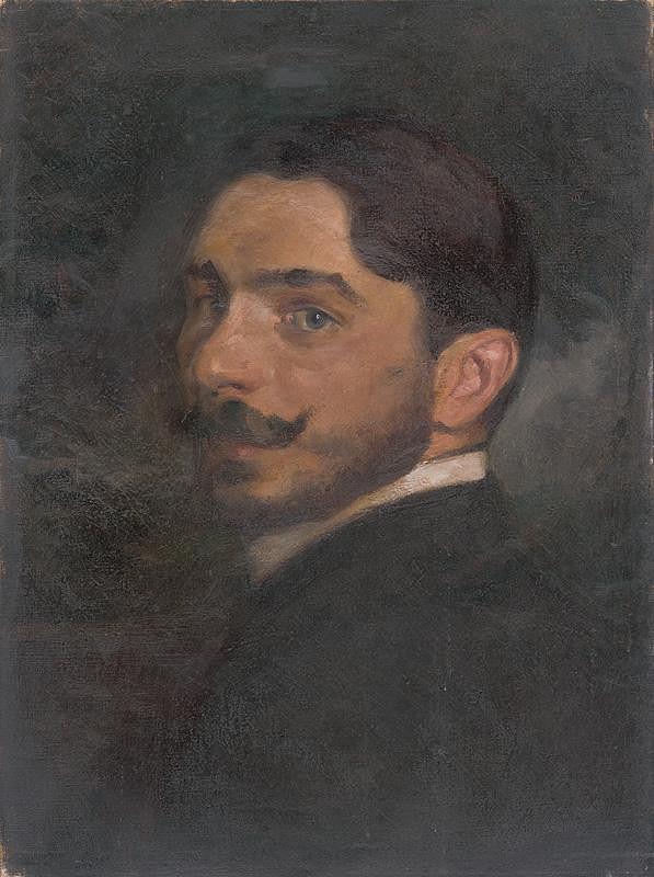 Milan Thomka Mitrovský - Autoportrét