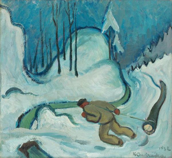 Karol Ondreička - Zimný motív