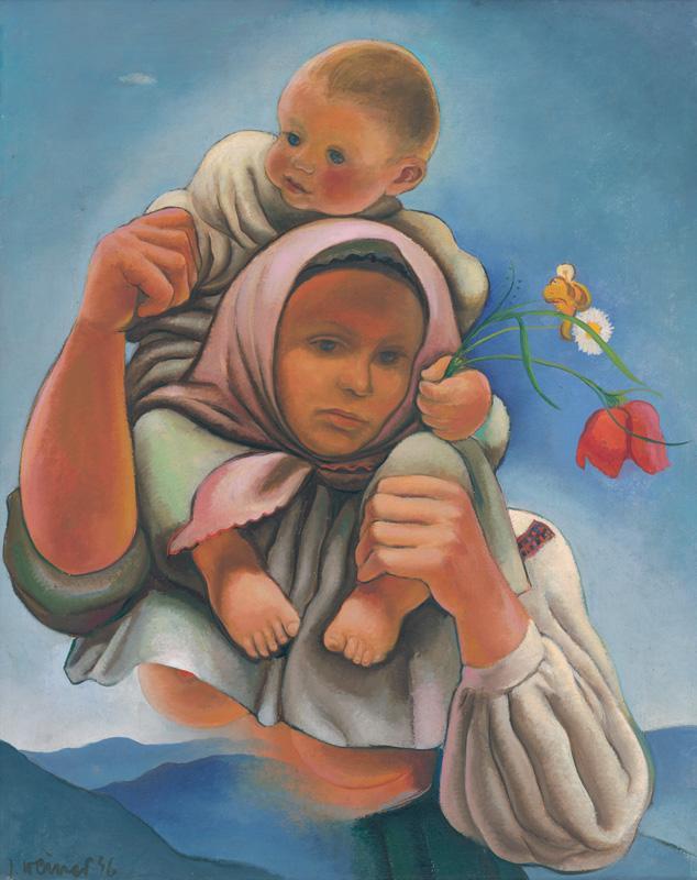 Imrich Weiner-Kráľ – Matka, 1936, Slovenská národná galéria