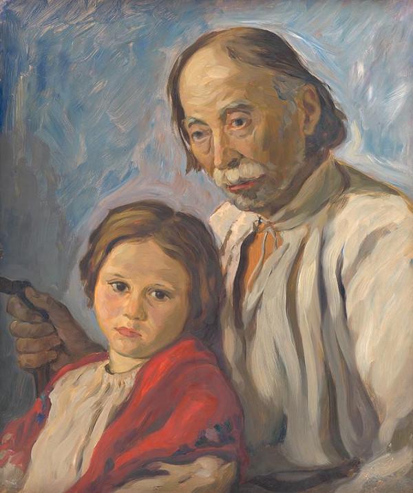Štefan Polkoráb - Starec s vnučkou