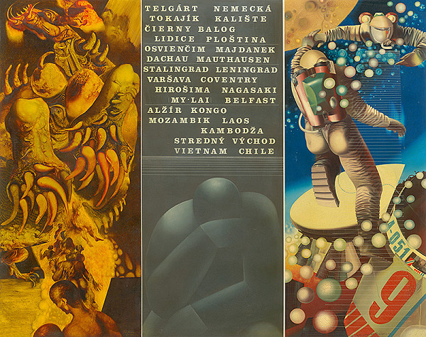 Záboj Bohuslav Kuľhavý – Triptych k 30.výročiu SNP