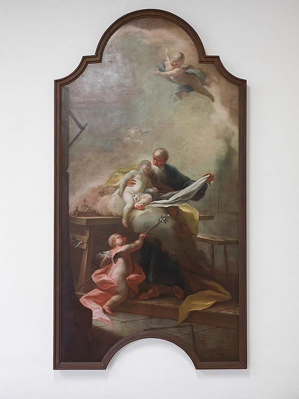 Slovenský maliar z 18. storočia, Josef Ignaz Mildorfer - Svätý Jozef