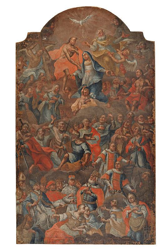 Slovenský maliar z 18. storočia, Neznámy maliar – Všetci svätí