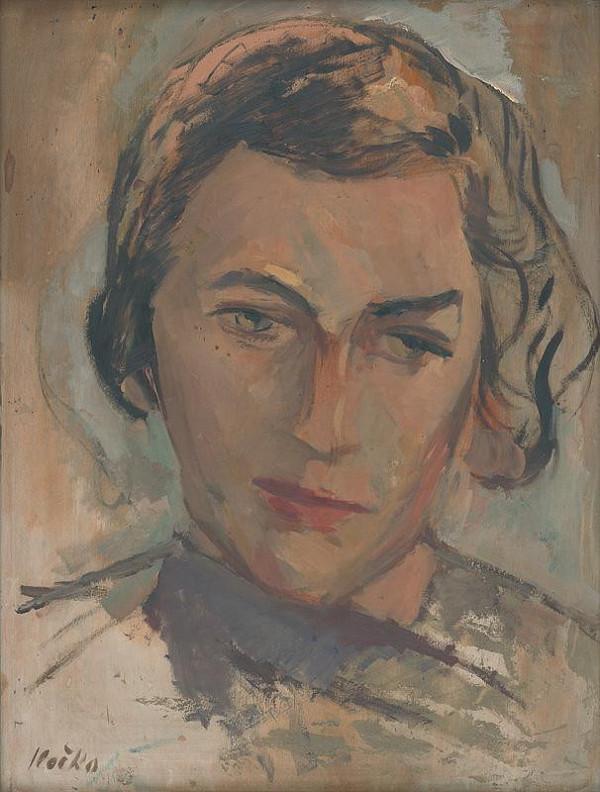 Jozef Ilečko - Portrét ženy