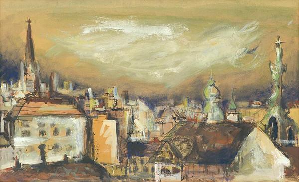 Viliam Chmel - Pohľad na Bratislavu