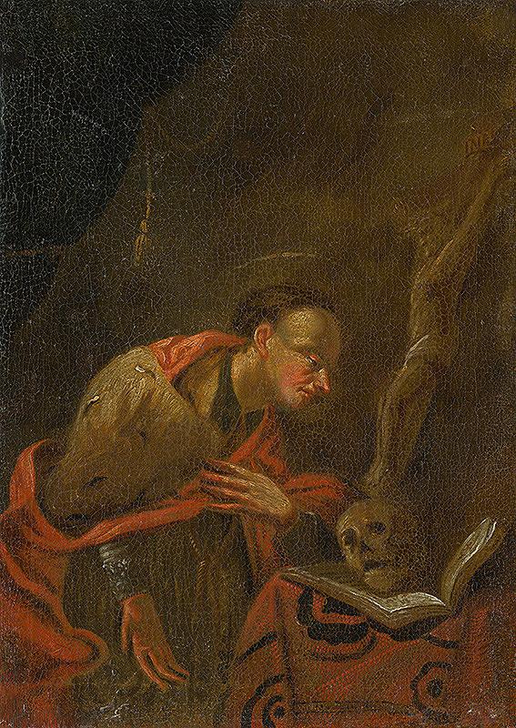 Slovenský maliar z 2. polovice 18. storočia, Neznámy maliar - Svätý Karol Boromejský