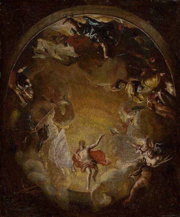 Stredoeurópsky maliar z 18. storočia, Jozef Zanussi - Vzkriesenie Krista