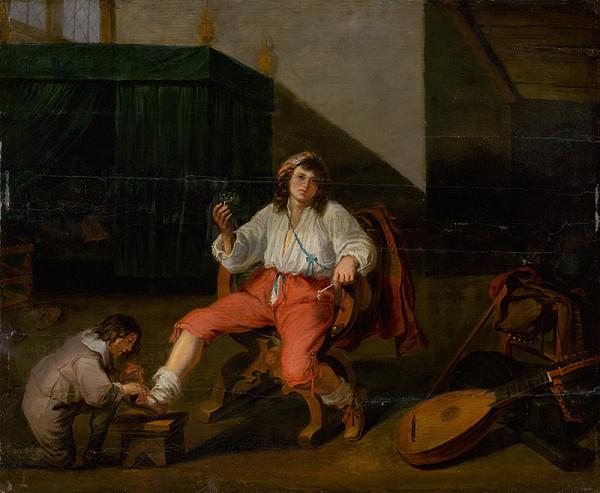 Willem van Herp I. – Čaša vína