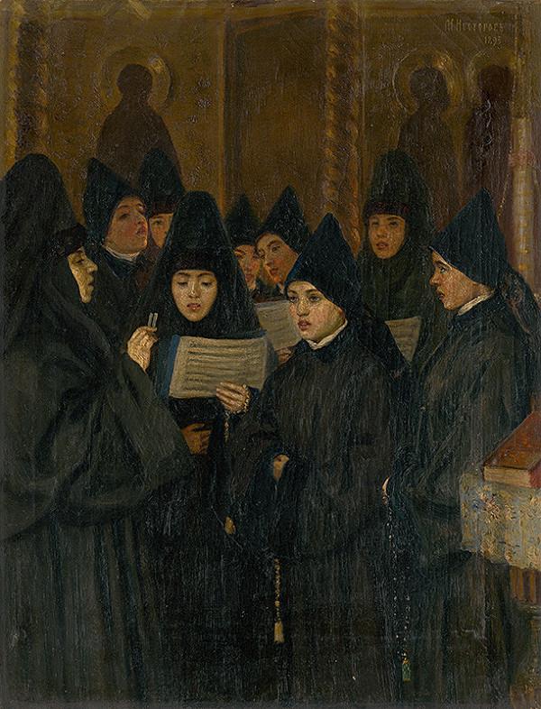 Michail Vasiljevič Nesterov – Mníšky