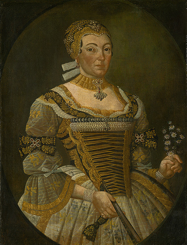 Východoslovenský maliar z 18. storočia - Podobizeň zemanky