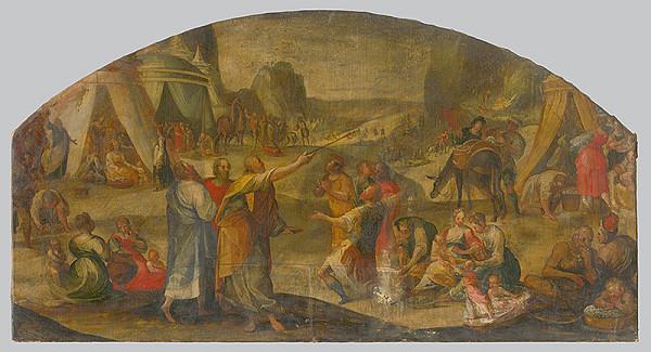 Stredoeurópsky maliar z 18. storočia – Návrh na lunetovú výzdobu