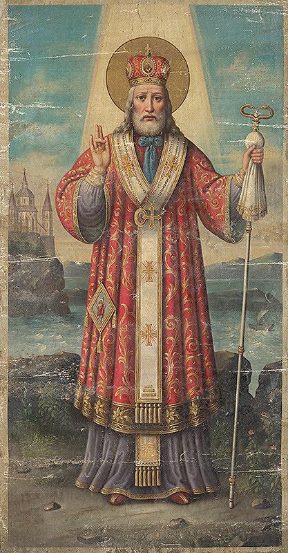 Východoslovenský maliar z 19. storočia - Svätý Mikuláš