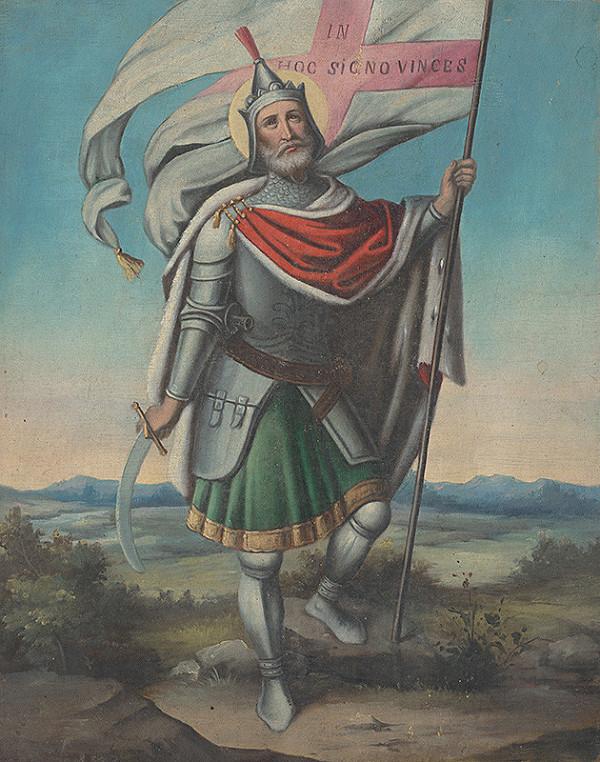Východoslovenský maliar z 19. storočia - Svätý Konštantín Veľký