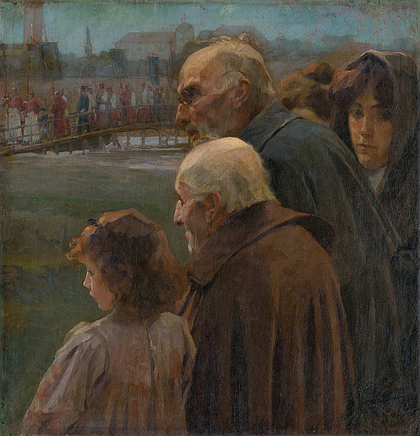 Teodor Zemplényi - Figurálna kompozícia