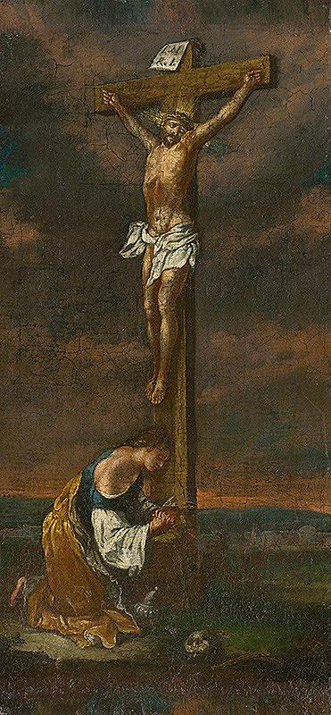 Slovenský maliar zo začiatku 18. storočia, Neznámy maliar – Mária Magdaléna pod krížom