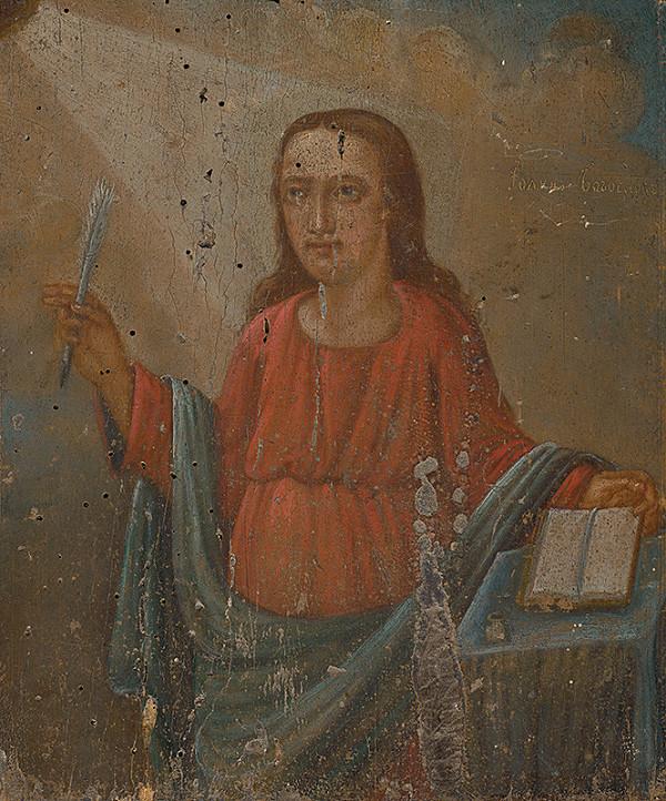 Východoslovenský maliar z 2. polovice 19. storočia - Svätý Ján Evanjelista