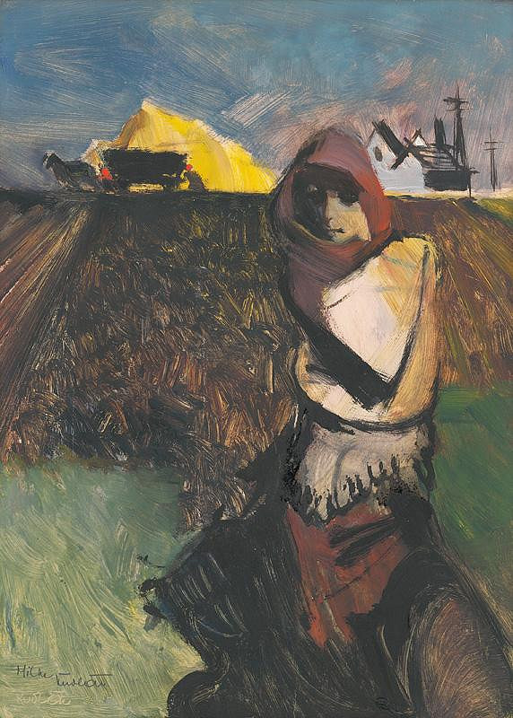 František Kudláč – Žena v poli