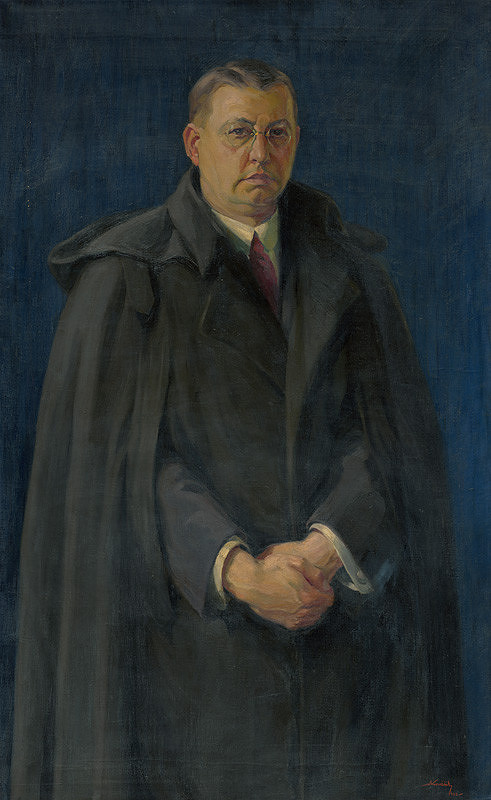 Andrej Kováčik – Autoportrét