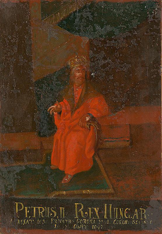 Slovenský maliar z 18. storočia, Neznámy maliar - Peter II.