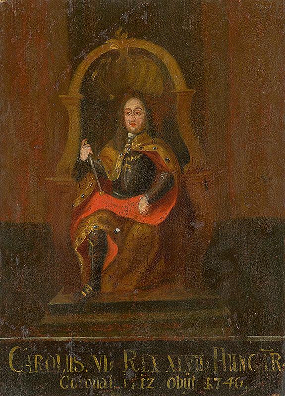Slovenský maliar z 18. storočia, Neznámy maliar - Karol VI.