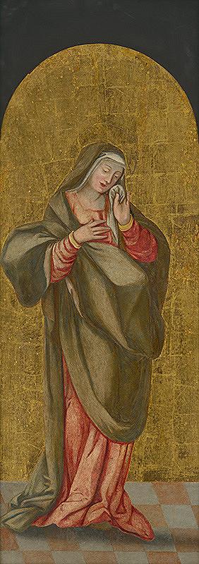Slovenský maliar zo 16. storočia, Neznámy maliar - Bolestná Panna Mária