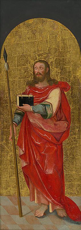 Slovenský maliar z konca 16. storočia, Neznámy maliar – Apoštol Tomáš
