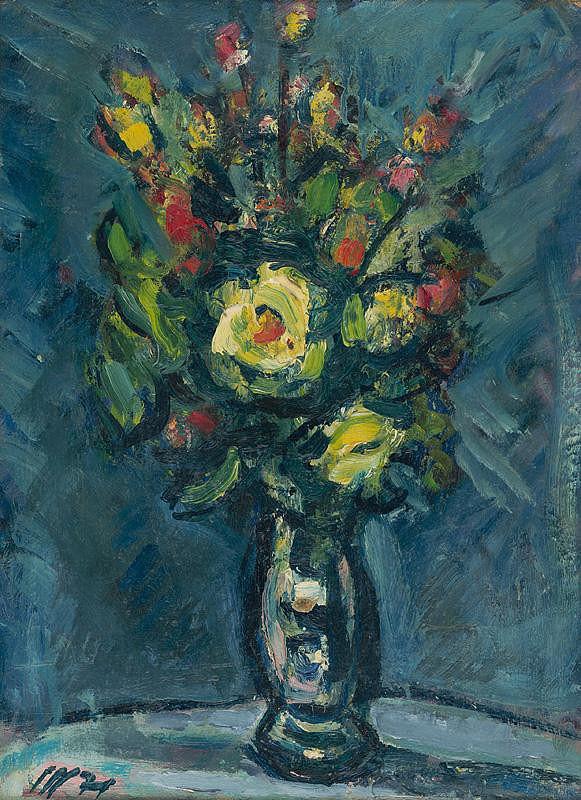 Vojtech Mensatoris - Žlté ruže