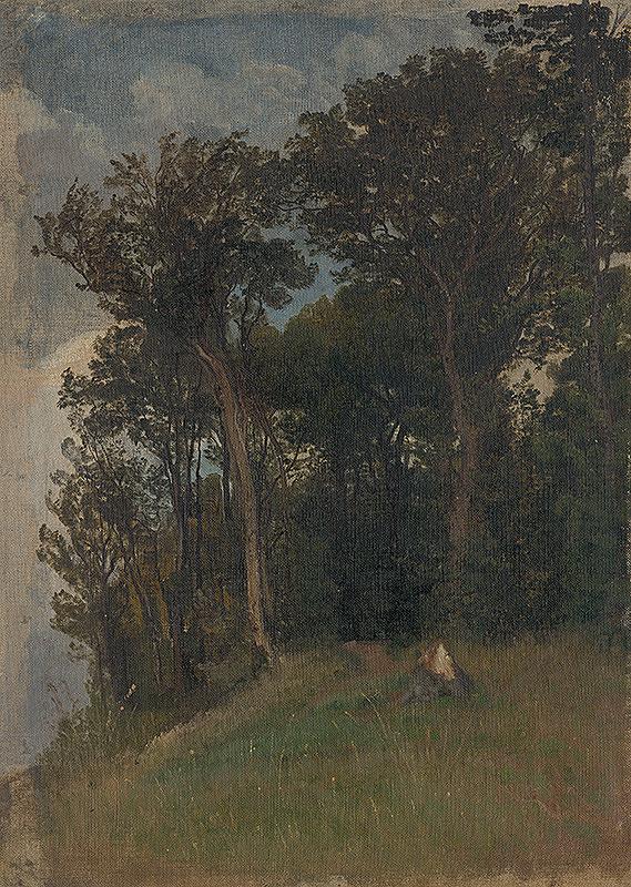 Friedrich Carl von Scheidlin – Na okraji lesa