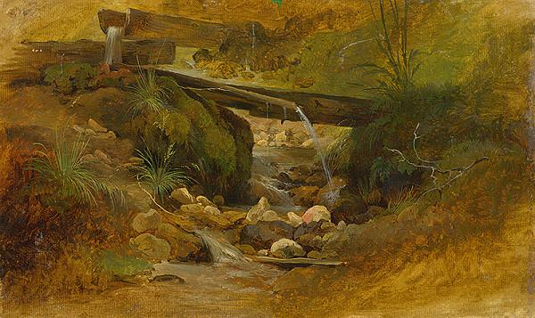 Friedrich Carl von Scheidlin – Horský potok
