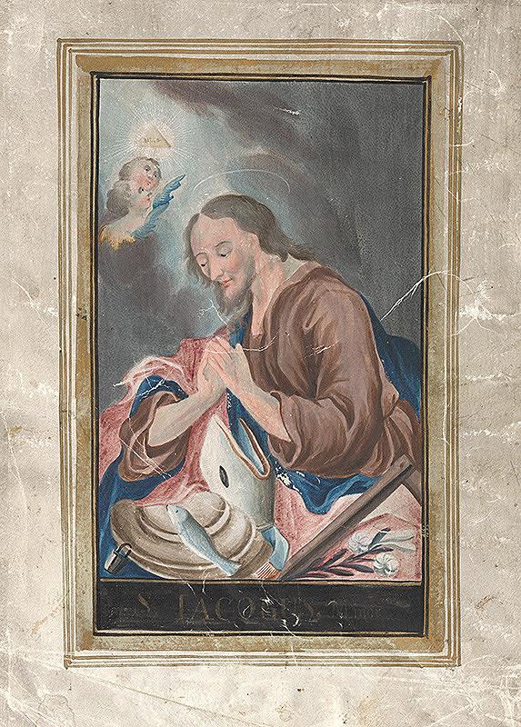 Slovenský maliar z 2. polovice 18. storočia, Neznámy maliar - Svätý Jakub