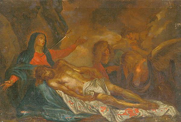Slovenský maliar z 18. storočia, Neznámy maliar - Pieta - Mater Dolorosa