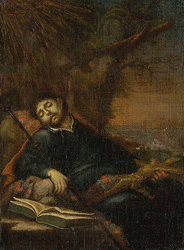 Stredoeurópsky maliar z konca 18. storočia – Smrť svätého Františka