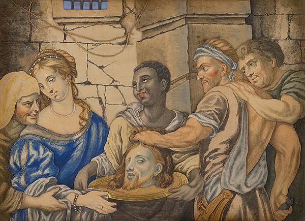 Slovenský maliar z 18. storočia, Neznámy maliar – Salome s hlavou Jána Krstiteľa