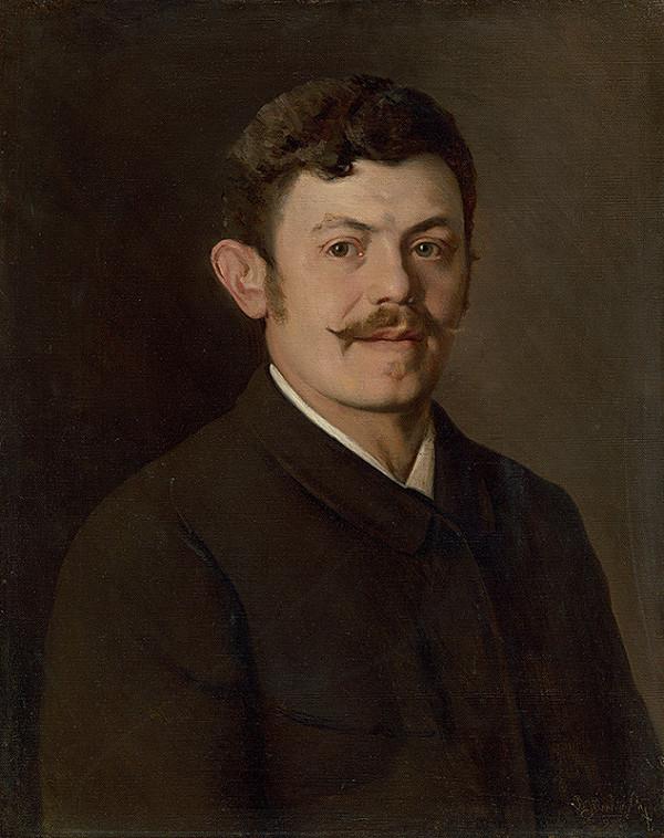 Dominik Skutecký – Autoportrét umelca