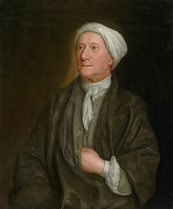 John Smibert – Podobizeň muža v župane