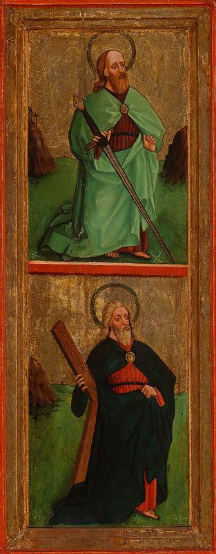 Majster oplakávania z Tvrdošína, Neznámy maliar – Svätý Pavol a svätý Ondrej