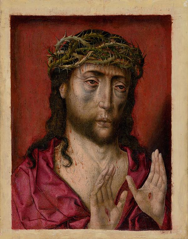 Albert Bouts – Bolestný Kristus