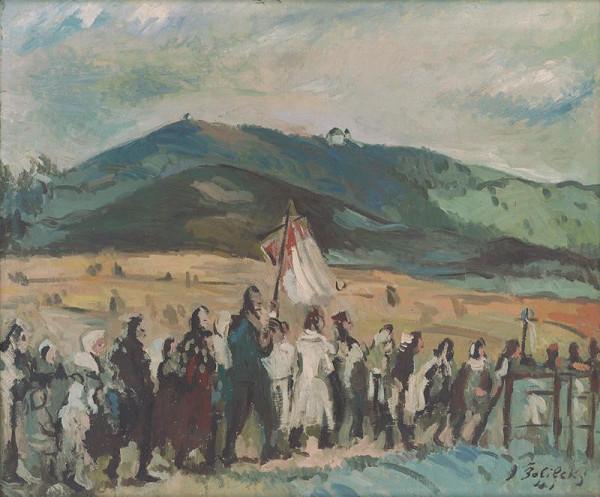 Ján Želibský – Dedinská procesia