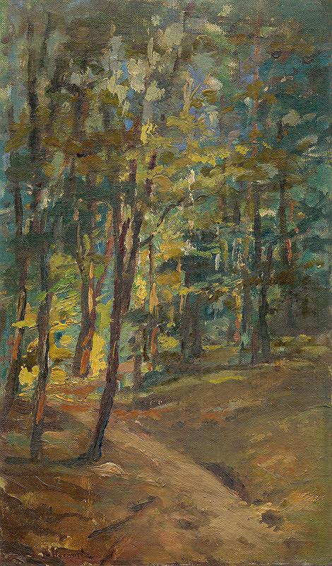 Leopold Horovitz – Lesný interiér