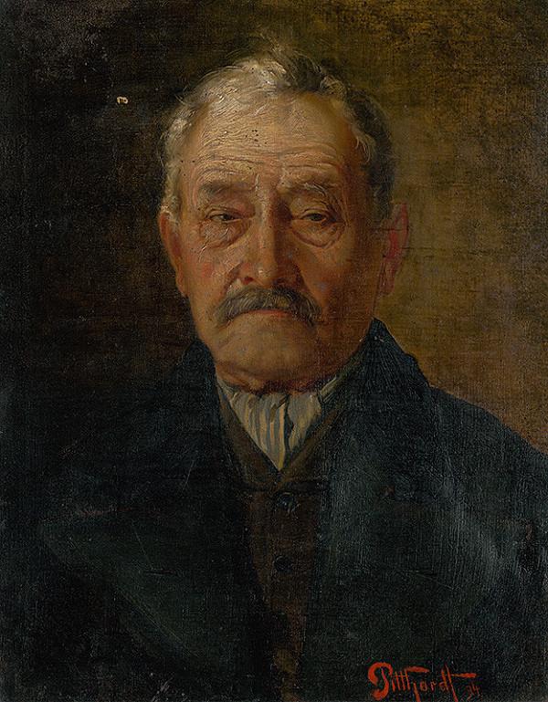 Ľudovít Pitthordt - Podobizeň starého muža