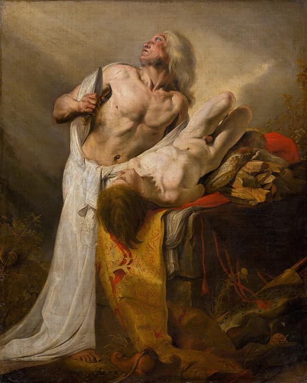 Pieter de Grebber, Holandský maliar z 2. štvrtiny 17. storočia - Obetovanie Izáka