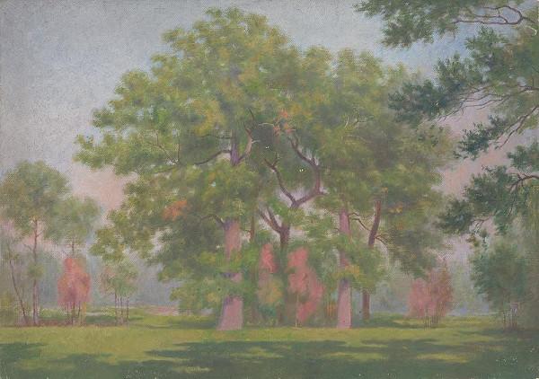 Dezider Czölder - Krajina so stromami