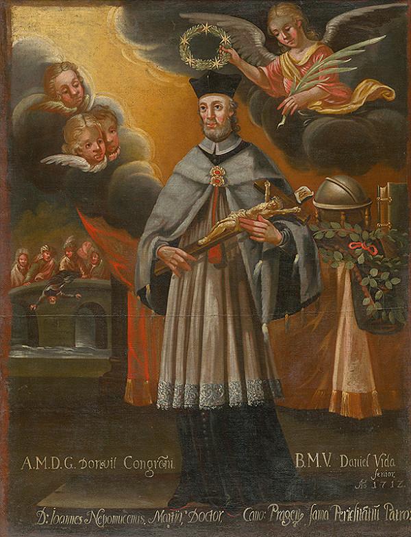 Slovenský maliar zo začiatku 18. storočia, Neznámy maliar – Svätý Ján Nepomucký