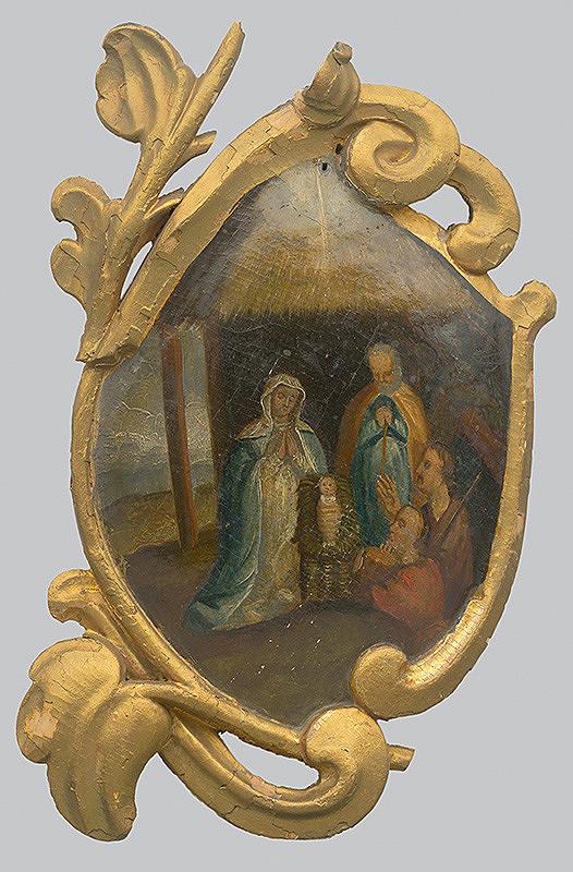 Slovenský poloľudový maliar z 2. polovice 18. storočia, Neznámy maliar - Narodenie